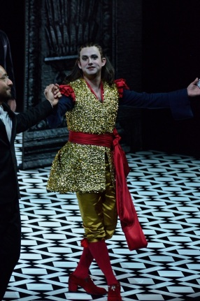 Franco Fagioli (Cesare) at the curtain call © Richard Vowles