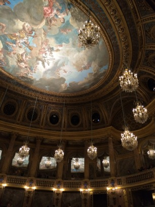 The interior of the opera house, seen from my seat