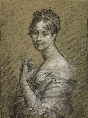 Pierre-Paul Prud'hon, Study for a portrait of the Empress Josephine, Musée Baron Martin, France