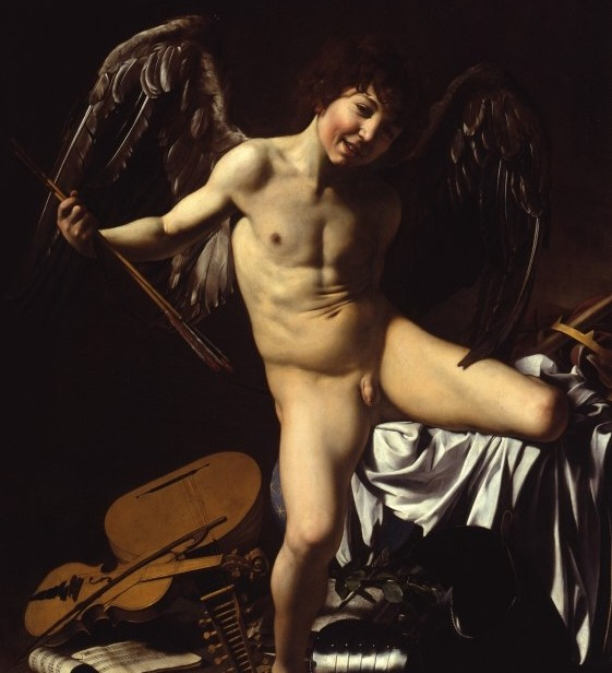 Caravaggio, Amor Victorious, Gemäldegalerie, Berlin