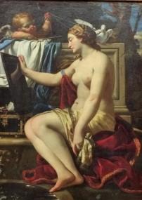 Simon Vouet, Venus at her Bath, Gemäldegalerie, Berlin