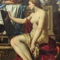 Simon Vouet, Venus at her Bath, Gemäldegalerie, Berlin