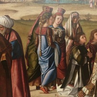 Vittore Carpaccio, St Stephen consecrated Deacon (detail), Gemäldegalerie, Berlin