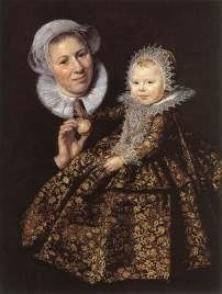 Frans Hals, Portrait of Catharina Hooft and her nurse, Gemäldegalerie, Berlin