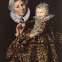 Frans Hals, Portrait of Catharina Hooft and her nurse, Gemäldegalerie, Berlin