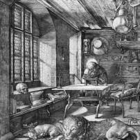 Albrecht Dürer, St. Jerome in His Study, Kupferstichkabinett, Berlin