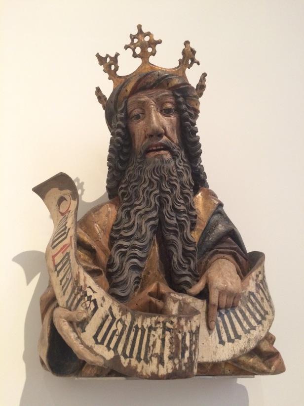 German, mid-15th century, King David, Bodemuseum, Berlin