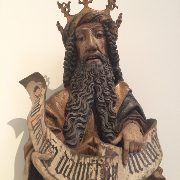 German, mid-15th century, King David, Bodemuseum, Berlin