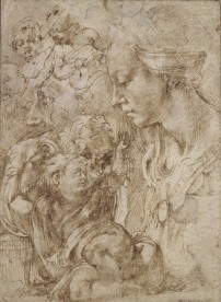 Michelangelo?, Madonna and Child, Kupferstichkabinett, Berlin