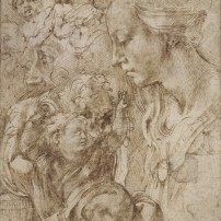 Michelangelo?, Madonna and Child, Kupferstichkabinett, Berlin