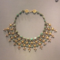 A dazzling necklace from Egypt, c.400-600 AD , Altes Museum, Berlin