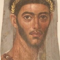 Portrait of an officer, mummy portrait from Fayum, 50-250 AD, Altes Museum, Berlin