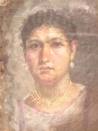 Portrait of Aline (c.25 AD), Neues Museum, Berlin
