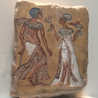 A royal couple in a garden (c.1335 BC), Neues Museum, Berlin