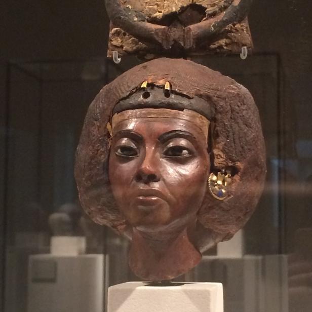 Portrait of Queen Tiye (c.1355 BC), Neues Museum, Berlin