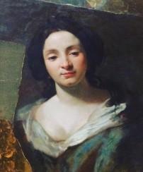 Simon Vouet, Portrait of Virginia da Vezzo (the artist's wife), Gemäldegalerie, Berlin
