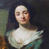 Simon Vouet, Portrait of Virginia da Vezzo (the artist's wife), Gemäldegalerie, Berlin