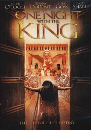 The original DVD cover for One Night with the King