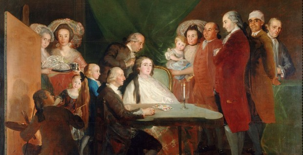 Goya: Portrait of the family of Don Luis