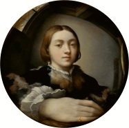 Parmigianino, Self Portrait
