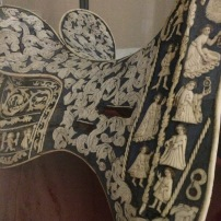 An early 15th-century court saddle inlaid with ivory
