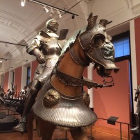 Armour for man and horse worn by the future Emperor Ferdinand I