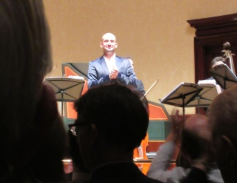 Franco Fagioli soaking up the applause after the concert © Baroque Bird