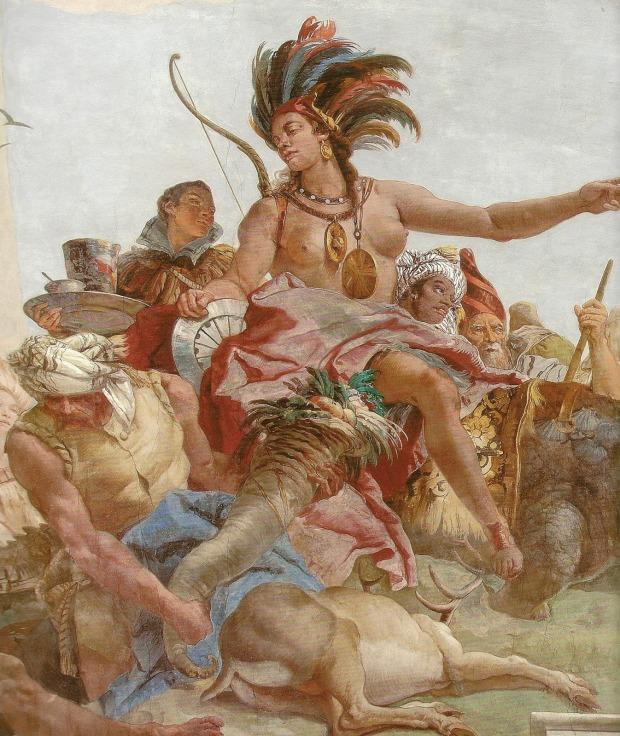 Giovanni Battista Tiepolo, America