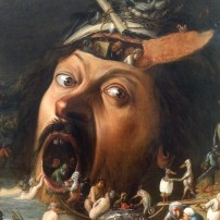 Joos van Craesbeeck (1605/8-1662), The Temptation of St Anthony, c.1650, oil on canvas, Kunsthalle, Karlsruhe (detail)