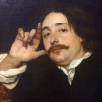 Lucas Franchoys II (?), Portrait of a man