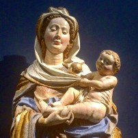 15th century Madonna and Child