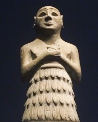 Sumerian worshipper