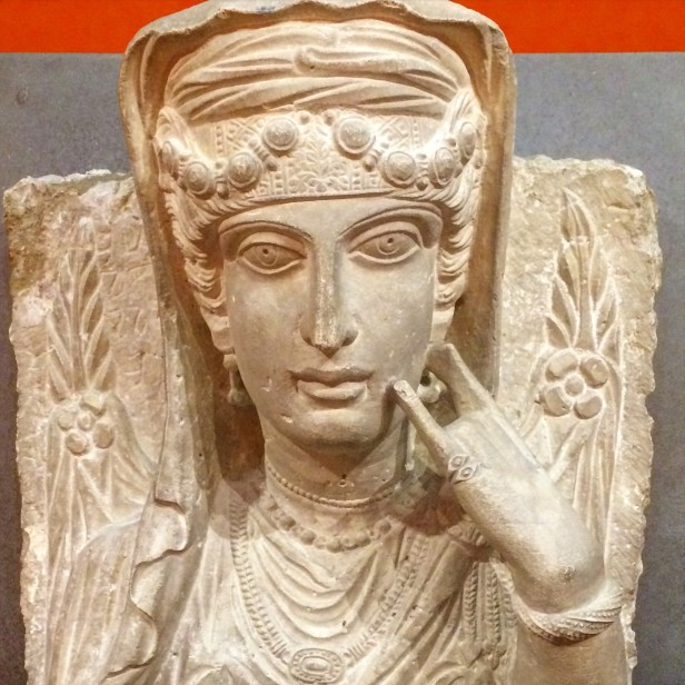 Palmyran funerary bust