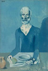 Pablo Picasso, The Ascetic, 1903, Barnes Foundation, Philadelphia