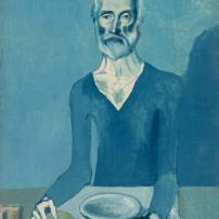 Pablo Picasso, The Ascetic, 1903, Barnes Foundation, Philadelphia