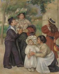 Pierre-Auguste Renoir, Portrait of the Artist's Family. 1896, Barnes Foundation, Philadelphia
