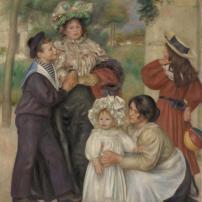 Pierre-Auguste Renoir, Portrait of the Artist's Family. 1896, Barnes Foundation, Philadelphia