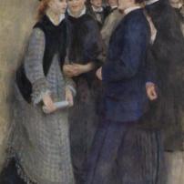 Pierre-Auguste Renoir, Leaving the Conservatory, 1876-77, Barnes Foundation, Philadelphia