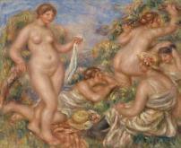 Pierre-Auguste Renoir, Bathers, c.1918, Barnes Foundation, Philadelphia