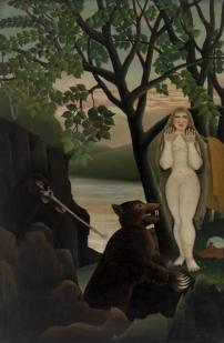 Henri Rousseau, Mauvaise Surprise, 1901, Barnes Foundation, Philadelphia
