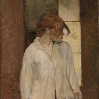 Henri de Toulouse-Lautrec, A Montrouge (Rosa La Rouge), 1886-87, Barnes Foundation, Philadelphia