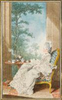 Louis Carmontelle, Portrait of the Comtesse de Boufflers, c. 1760, Musée Condé, Chantilly