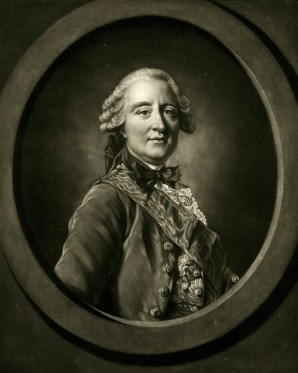 James Watson, after Louis-Michel Van Loo, Portrait of Claude Louis François de Regnier, Comte de Guerchy, 1766, mezzotint, British Museum, London