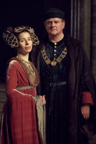 The Duchess and Duke of Gloucester (Sally Hawkins and Hugh Bonneville)