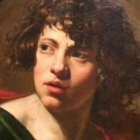 Simon Vouet, St John, c. 1622, Philadelphia Museum of Art (detail)
