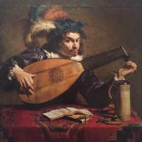 Theodor Rombouts, The Lute Player, c.1620, Philadelphia Museum of Art
