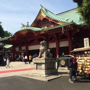 The Kanda Myojin Shrine, Tokyo