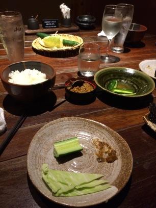 Supper in Hachioji