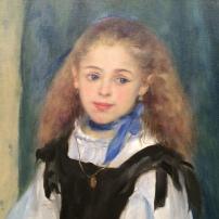 Pierre-Auguste Renoir, Portrait of Mademoiselle Legrand, 1875, Philadelphia Museum of Art