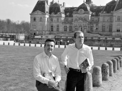 Yves Jégo and Denis Lépée at Vaux le Vicomte